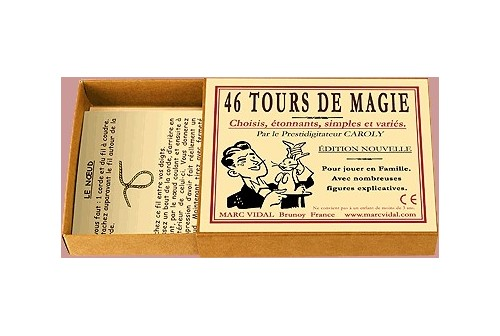 Boîte de 46 tours de magie