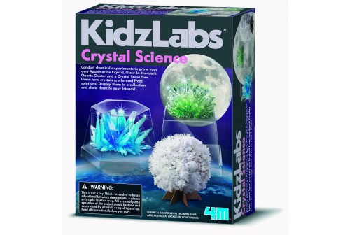 Kit de science des cristaux 4M