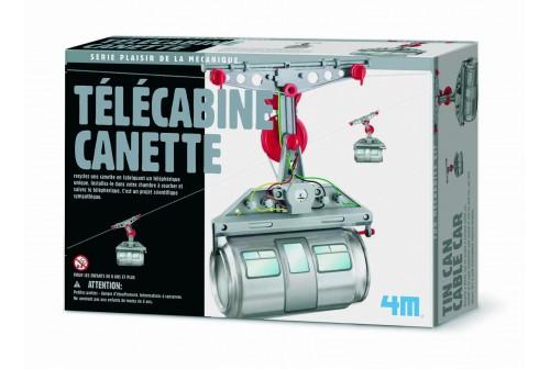 Kit télécabine canette 4M