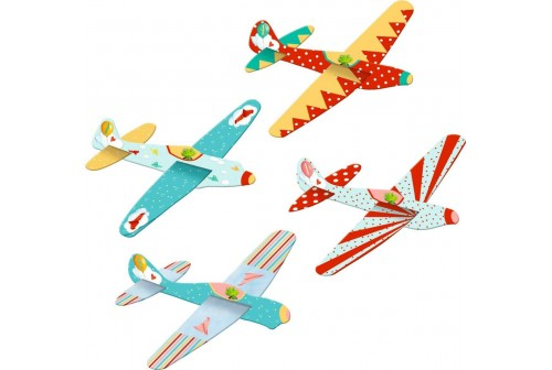 Kit avion polystyrène Garden Kids