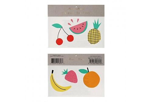 Tatouage fruits Meri Meri
