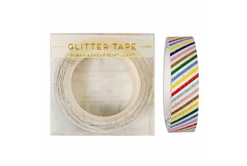 Masking tape rayures coloréés