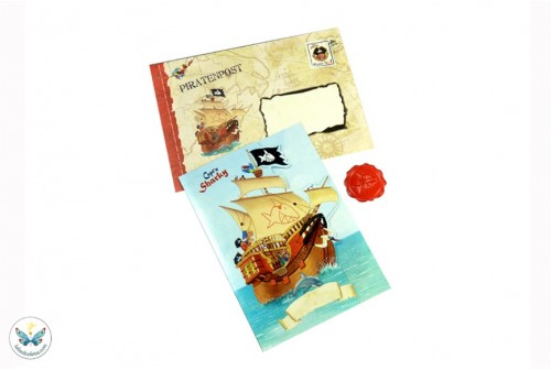 Cartes d'invitation Capitaine Sharky
