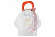 8 sacs de fête coquillage