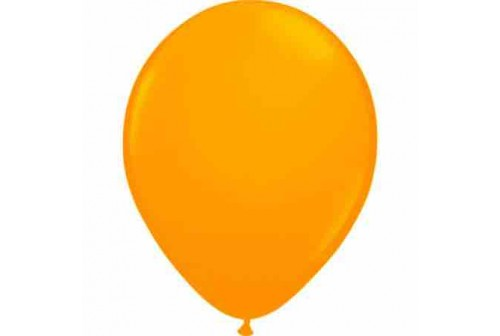 Ballon orange - set de 10 ballons