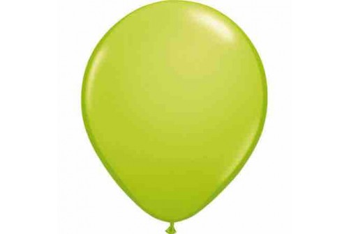 Ballon vert pomme - set de 10 ballons