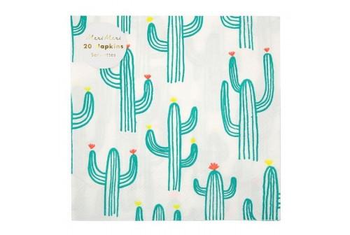 Serviettes Cactus