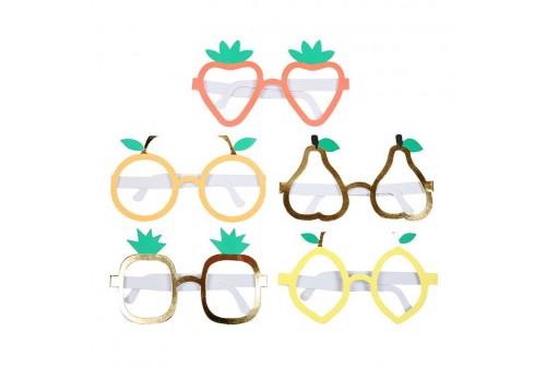 10 lunettes fruits