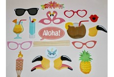 Kit photobooth tropical DIY