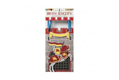8 sacs de fête de chevalier