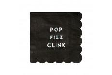 Petites serviettes Pop Fizz