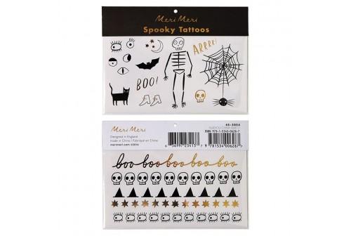 Tatouages Halloween Spooky