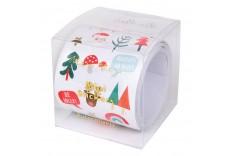 Rouleau de 100 stickers de Noël