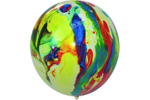 Ballon Marbré - Set de 10