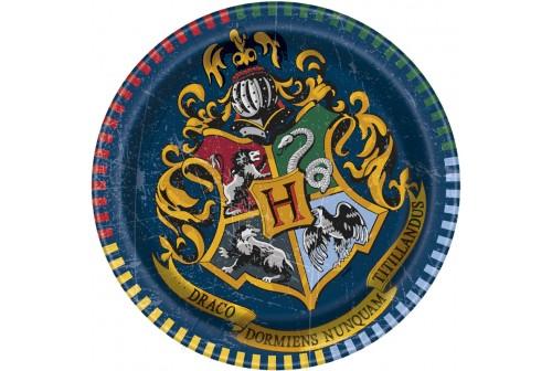 Assiette à dessert Harry Potter