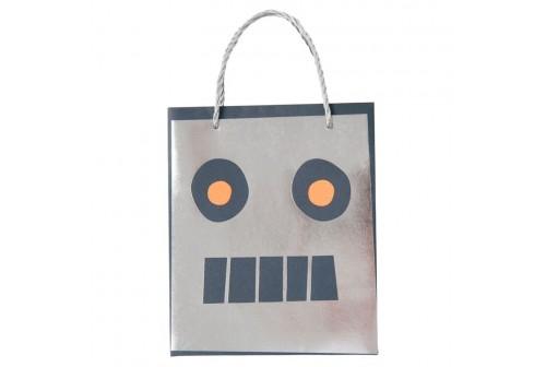 8 sacs de fête thème Robot