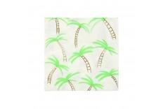 Serviettes palmier