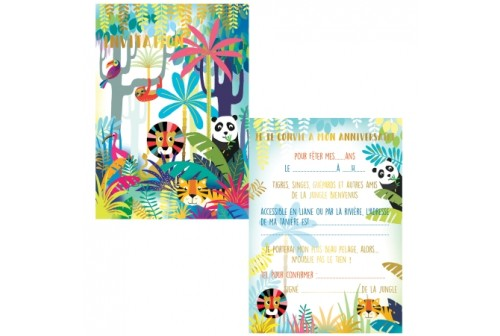 Invitation Jungle