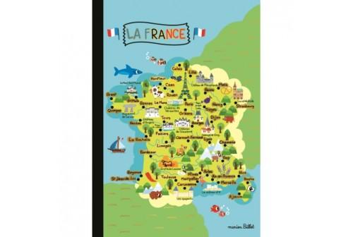 Cahier Carte de France