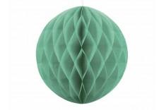 Set de 2 Boules alvéolées vert menthe