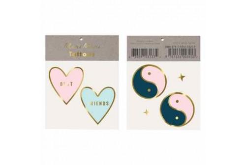 Tatouages Yin & yang Meilleures amies