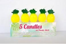 5 bougies ananas