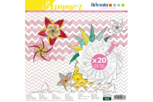 Coloriage XL summer