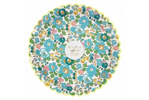 Assiette liberty Green Betsy