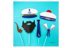 Kit photobooth thème marin