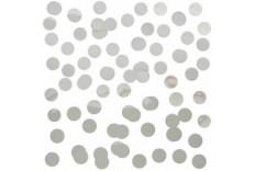 Confettis Mylar Argent