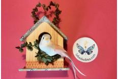 Nichoir à oiseau DIY