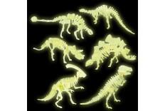 Os de Dinosaure fluo DIY