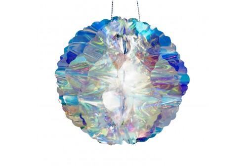 Boule alvéolée iridescente