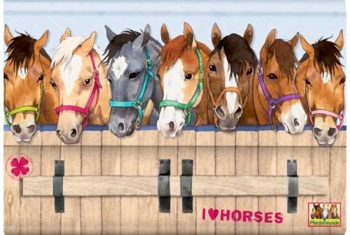 Set correspondance cheval