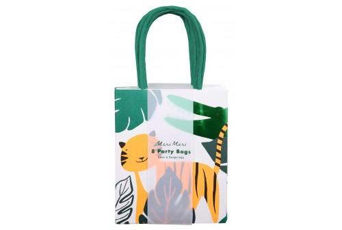 8 sacs de fête animaux sauvages