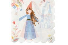 Serviettes princesse magique Meri Meri