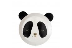 12 assiettes à dessert Panda