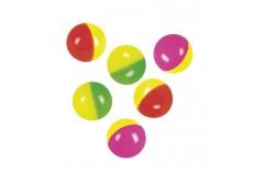 Balle rebondissante bicolore