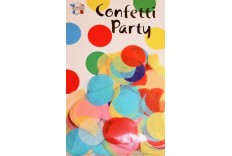 Confetti 25 mm couleurs Multicolore