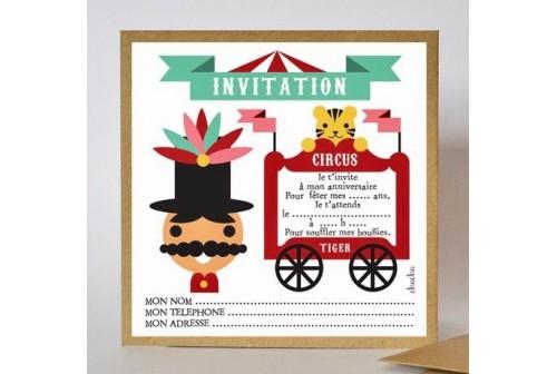 Invitation Circus - Chacha