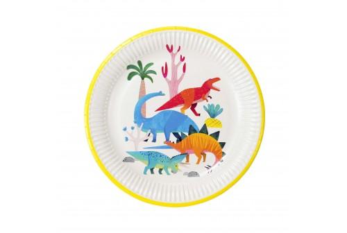 Assiettes Dinosaure TT