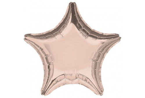 Ballon Mylar rose gold