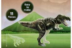 Puzzle dinosaures 3D en bois