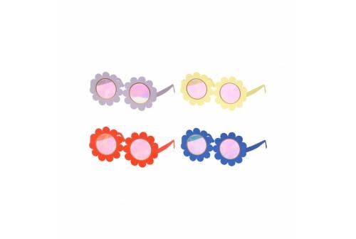 12 lunettes fleurs