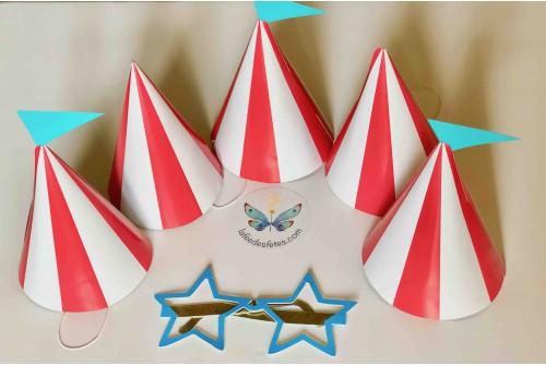 Chapeaux de fête cirque