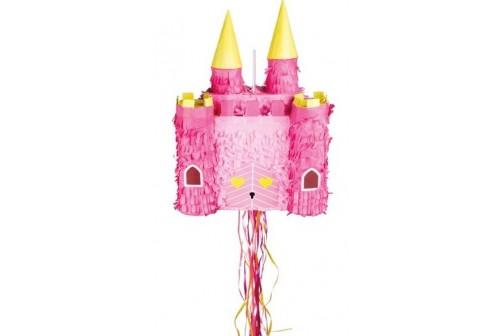 pinata chateau de princesse à tirer