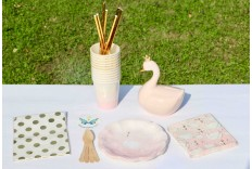 Kit Cygne rose & or