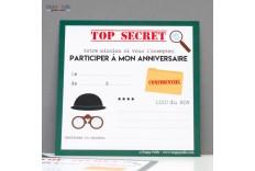 8 Invitations Agent secret