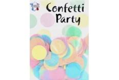 Confetti 25 mm couleurs Pastel