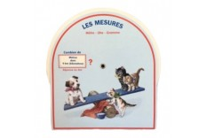 Disque de mesure Version chat & chien